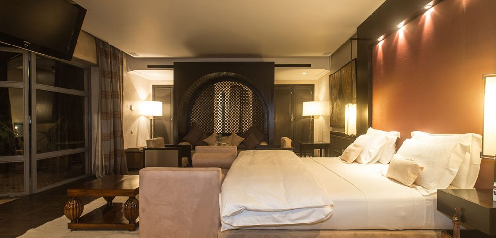 Royal hotelkamer kuuroord vakantie