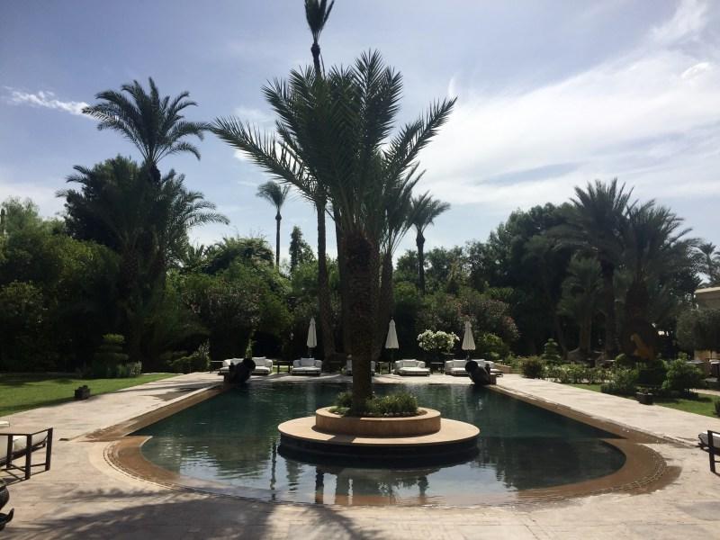 vakantie marrakech zwembad
