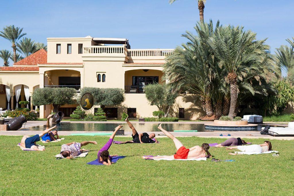 Training kuuroord vakantie Marokko